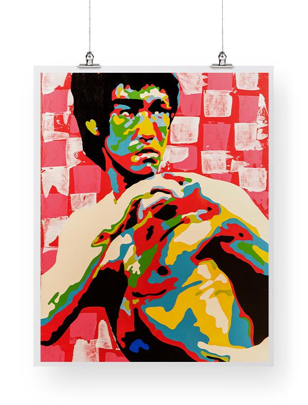 Bruce Lee print