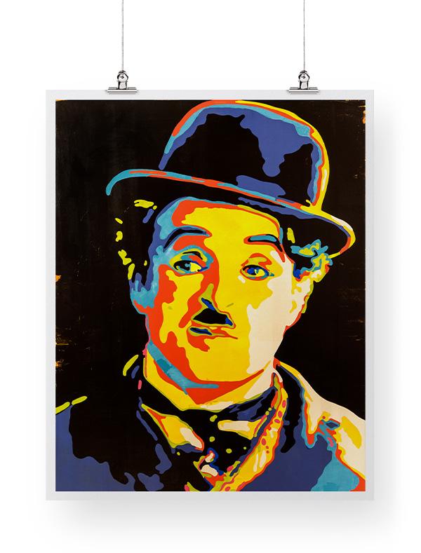 Charlie Chaplin print