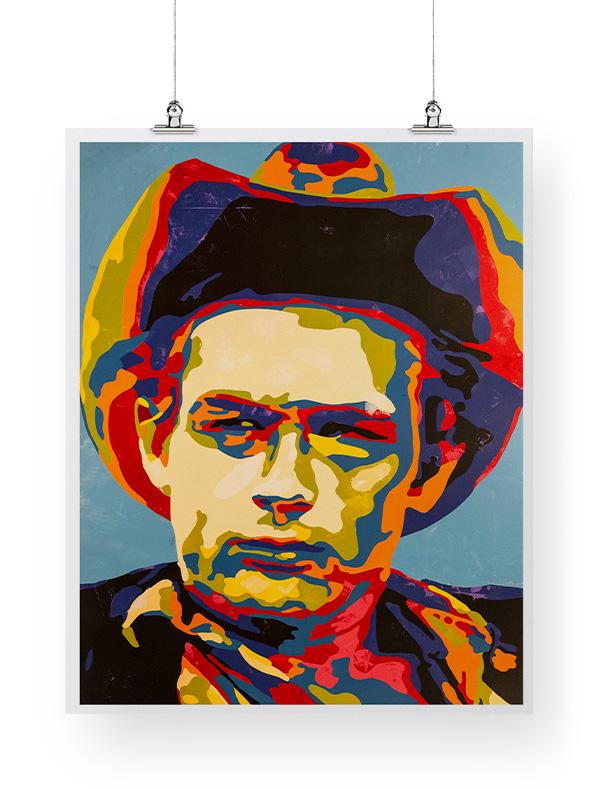 James Dean print