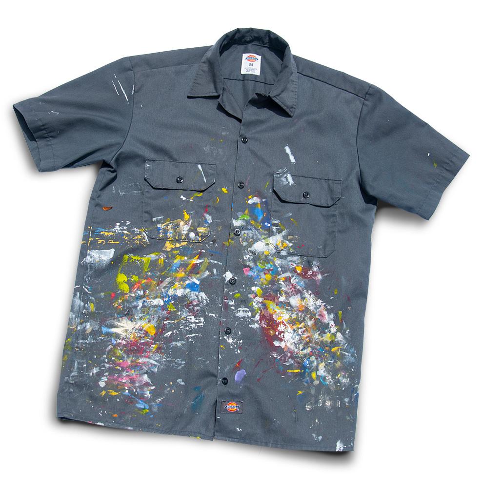 Studio painting shirt