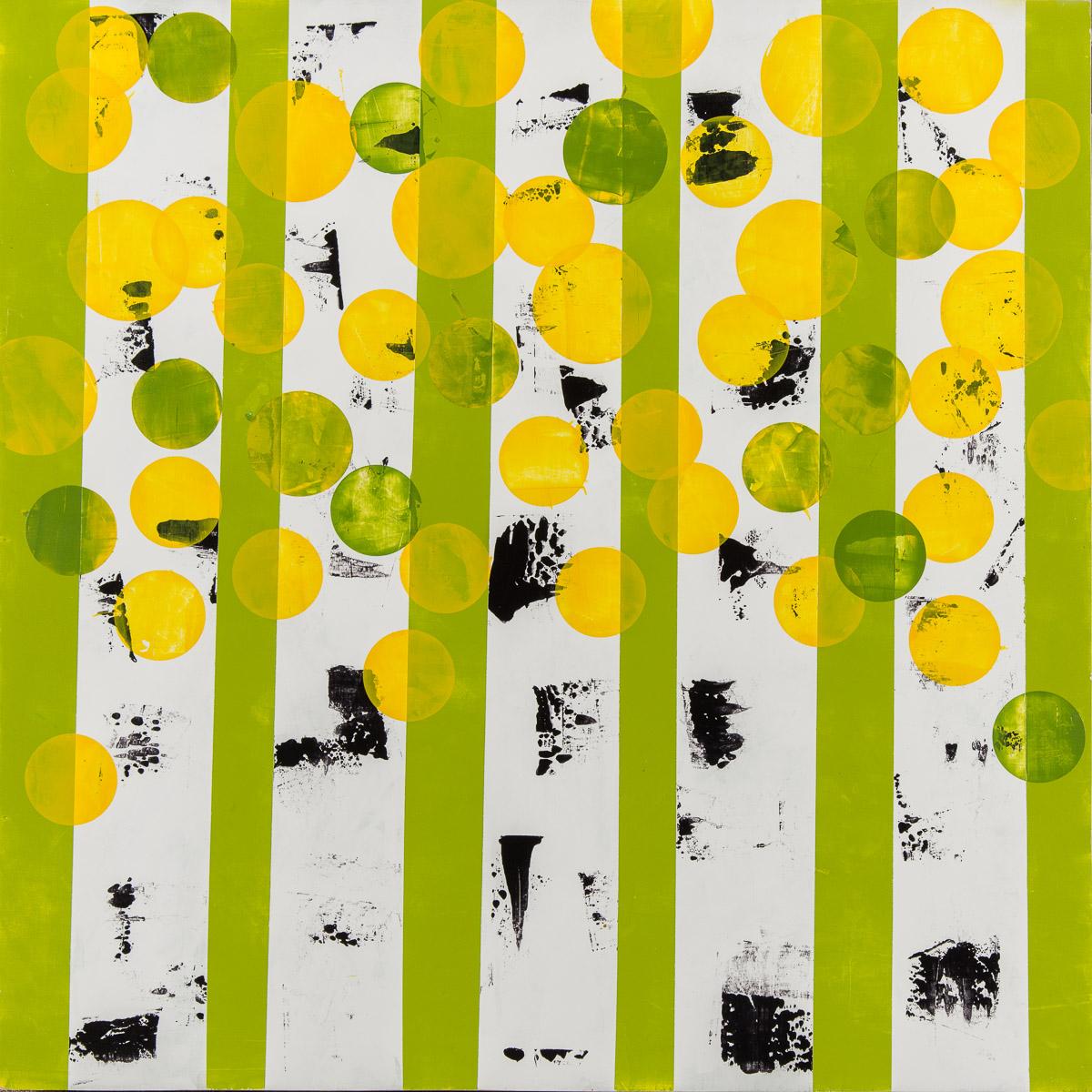 Green Aspen Painting
