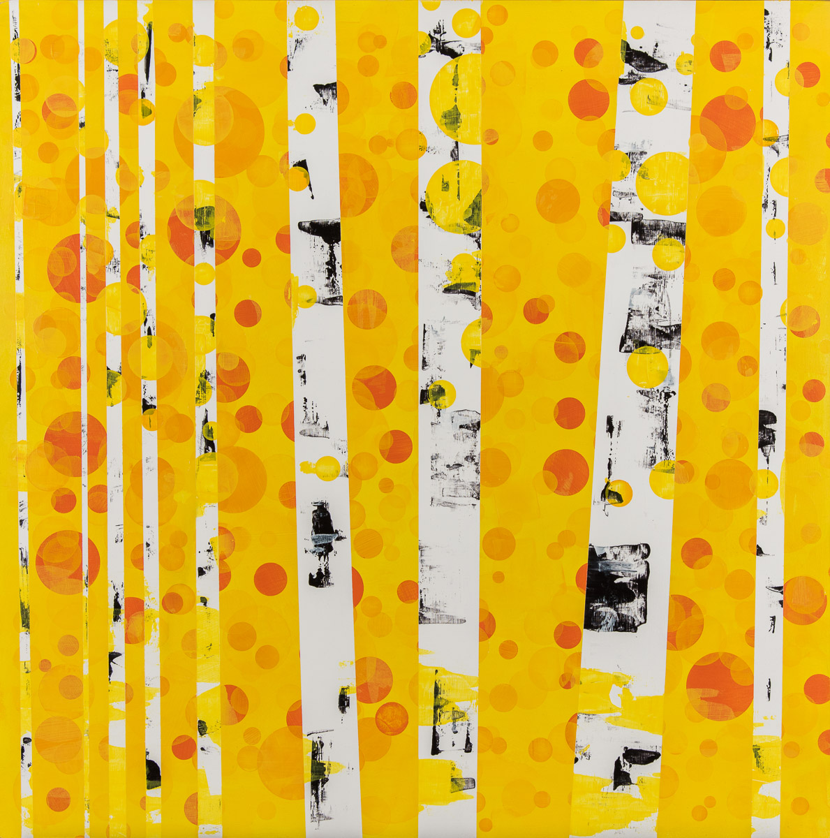 Yellow Aspen Painting